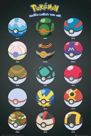 Pokemon- Pokeballs