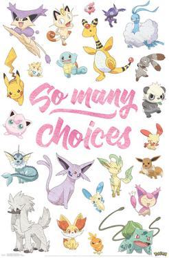 Pokemon - So Many Choices