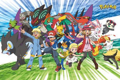 Pokemon- Travelling Party