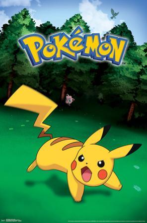 Pokemon- Wild Pikachu