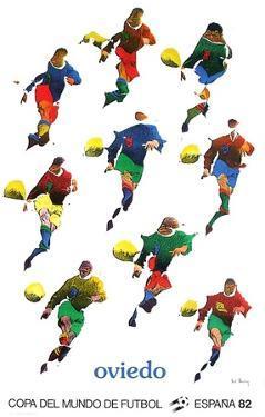 Copa del Mundo de Futbol 82 by Pol Bury