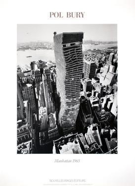 Manhattan Decoupage (1965) by Pol Bury