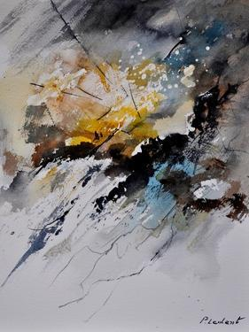 Abstract Watercolor by Pol Ledent