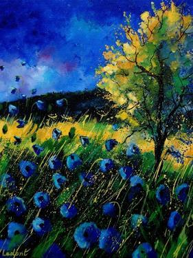 Blue Poppies 67 by Pol Ledent