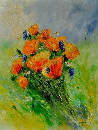 Bunch Of Poppies by Pol Ledent