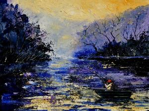 Fishing Pond by Pol Ledent
