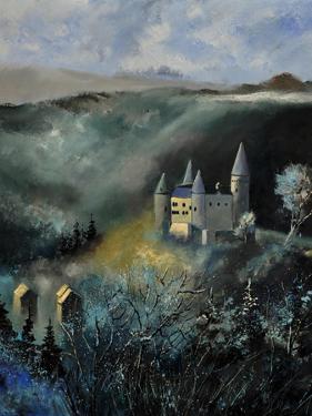 Medieval Castle In Veves by Pol Ledent