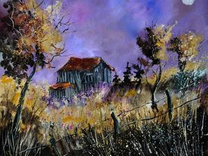 Old Barn In Ardennes by Pol Ledent