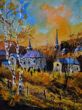 Old Chapel in Houroy by Pol Ledent
