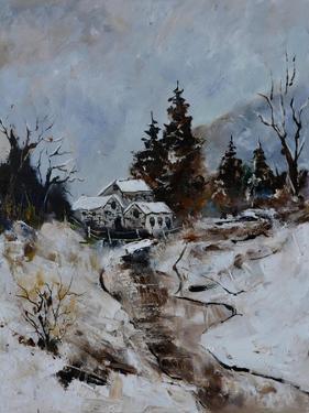 River in winter by Pol Ledent