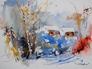Watercolor 0110 by Pol Ledent