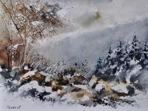 Watercolor 011101 by Pol Ledent