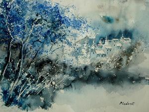 Watercolor 071107 by Pol Ledent