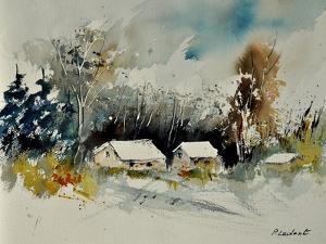 Watercolor 111025 by Pol Ledent