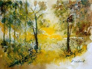 Watercolor 210108 by Pol Ledent
