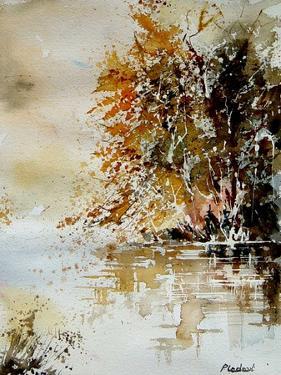 Watercolor 210505 by Pol Ledent