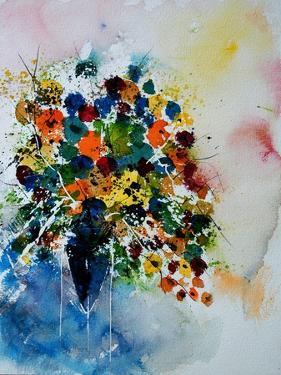 Watercolor 220407 by Pol Ledent