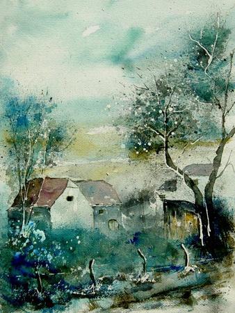 Watercolor Monceau