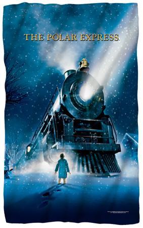 Polar Express - Poster Fleece Blanket
