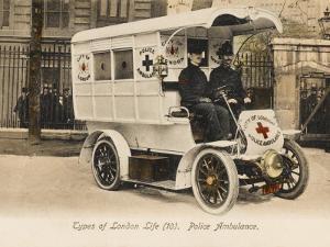 Police Ambulance - London