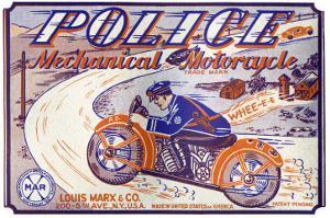 Police Mechanical Motorcycle