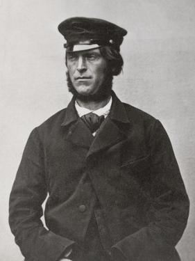 Police Mugshot of Fenian Prisoner Henry Hughes, Northallerton Gaol, North Yorkshire, 1865-66
