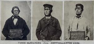 Police Mugshots of Fenian Prisoners James Donahy