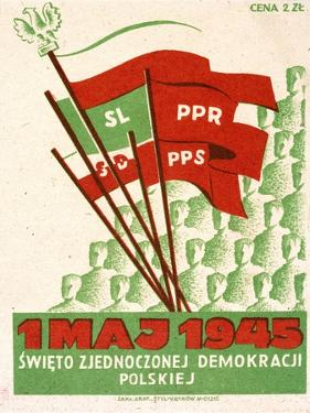 Polish Postcard from May Day 1945