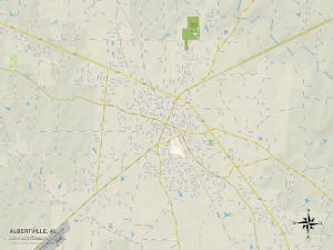 Political Map of Albertville, AL