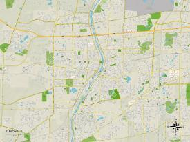 Maps Of Illinois Art Prints At Allposters Com
