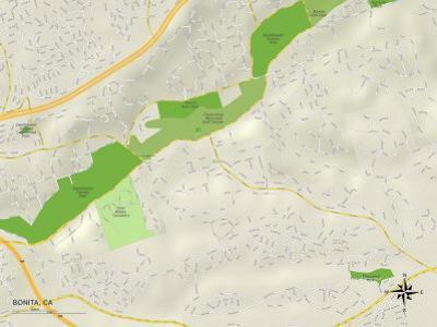 Political Map of Bonita, CA