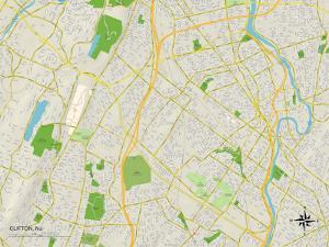Political Map of Clifton, NJ