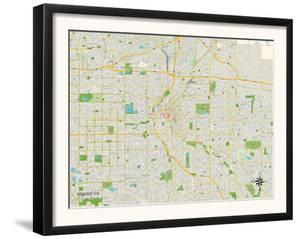 Political Map of Denver, CO
