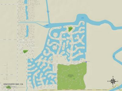 Political Map of Discovery Bay, CA