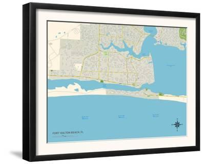 Map Of Fort Walton Beach Florida.Affordable Maps Of Florida Photos For Sale At Allposters Com