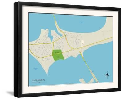 Map Gulf Breeze Florida.Affordable Maps Of Florida Photos For Sale At Allposters Com