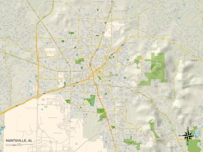 Political Map of Huntsville, AL