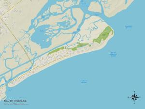Political Map of Isle of Palms, SC