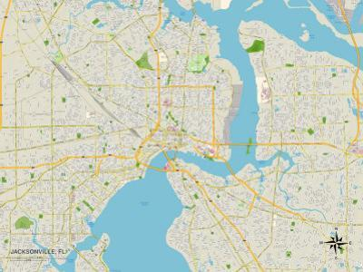 Map Of Jacksonville Florida.Affordable Maps Of Jacksonville Fl Posters For Sale At Allposters Com