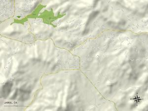 Political Map of Jamul, CA