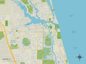 Political Map of Jupiter, FL
