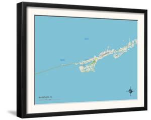 Political Map of Marathon, FL