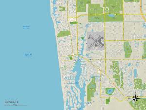 Political Map of Naples, FL