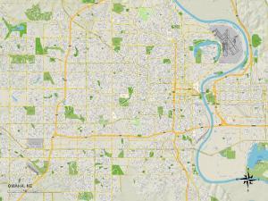 Political Map of Omaha, NE