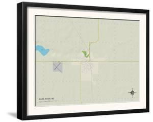 Political Map of Park River, ND
