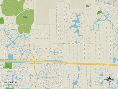 https://imgc.allpostersimages.com/img/posters/political-map-of-parkland-fl_u-L-PYAZ7S0.jpg?p=0