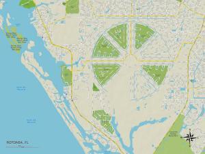 Political Map of Rotonda, FL