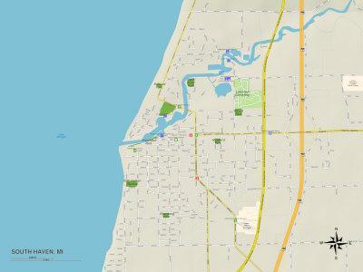 https://imgc.allpostersimages.com/img/posters/political-map-of-south-haven-mi_u-L-PYAWEZ0.jpg?artPerspective=n