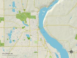 Political Map of Stillwater, MN