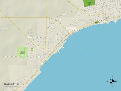 https://imgc.allpostersimages.com/img/posters/political-map-of-tawas-city-mi_u-L-PYAWBB0.jpg?p=0